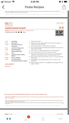 Almond chicken salad probably started in the middle east and has been adapted over the years. 21 Day Fixate Recipes, 21 Day Fix Recipies, Fixate Cookbook, Cookbook Recipes, Almond Crusted Chicken, Almond Chicken, 21 Fix, Beachbody 21 Day Fix, 21 Day Fix Diet