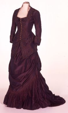 "Costume designed by Janet Patterson for Nicole Kidman in ""The Portrait of a Lady"" (1996). The film was nominated for an Oscar in Best Costume Design."