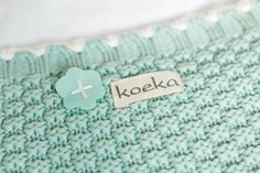 Koeka Valencia blanket for cot