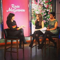 Catching up with Rose McGowan