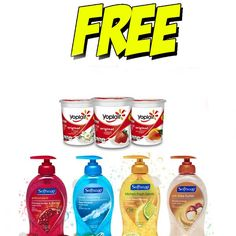 Free at Giant This week : 11 Awesome Freebies Starting 9/23 - http://couponsdowork.com/giant-weekly-ad/giant-freebies-soap-yogurt-dealio/