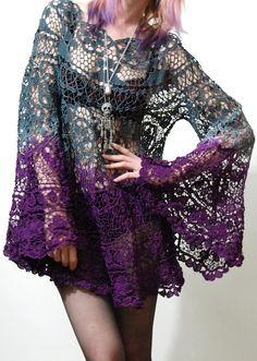 tumblr+crochet | crochet dress | Tumblr | Crochet Creations