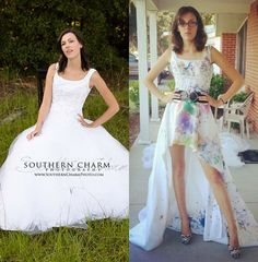 55 Intelligent & Fun Ways To Refashion Prom, Wedding & Formal Dresses - Paris Ciel - EN
