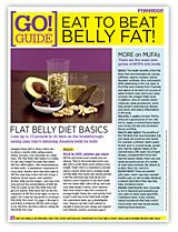 Eat to beat belly fat!