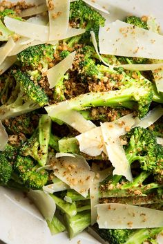 NYT Cooking: Here is an easy, elegant broccoli dish. If you wish, make the crumbs by pulsing cubes of day-old French bread in a food processor, but really any type of bread crumbs will do.