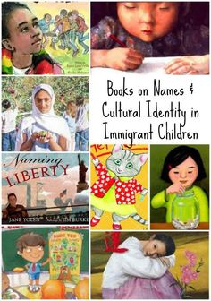Books about Immigrant Children and their names & cultural identity. Incredible resource for ESL teachers, especially for the beginning of the year (or any class!). Pre-reading and post-reading questions, and writing prompts that would even be great to teach empathy and kindness in kids.