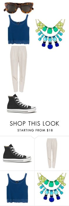 """Untitled #929"" by laurie-egan on Polyvore featuring Converse, Vince, Monki, Kate Spade and CÉLINE"