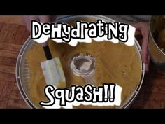 Dehydrating Pumpkin or Squash. See my other pin for making pumpkin pie from dehydrated pumpkin. dehydrated dehydrator.
