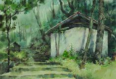 林毓修的寫生作品