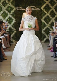 oscar de la renta wedding dresses spring 2013