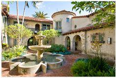 El Cabrillo Courtyard, Hollywood CA