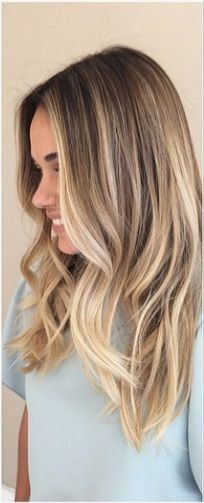 Not quite blonde and not quite brown, the 'bronde' hair color is a great shade that will give you the highlighted effect without looking overprocessed. #highlights