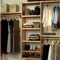 Features: -Baskets can be added into the adjustable shelf tower. -Metal garment bars. -ISTA 3A Certified. Product Type: -Closet System. Number of Items Included: -31. Mount Type: -Wall Mounted/B More