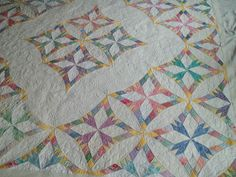 Bev's Chimney Swallows is out of the frame and into her hands again...this was so much fun to quilt!