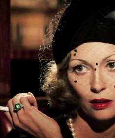 Faye Dunaway as Evelyn Mulwray in Chinatown.