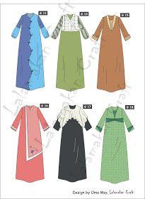 Dress Brokat Anak Muslim 43 Ideas For 2019 Dress Design Patterns, Dress Design Sketches, Fashion Design Sketches, Abaya Designs, Trendy Dresses, Nice Dresses, Hijab Fashion, Fashion Dresses, Moslem Fashion