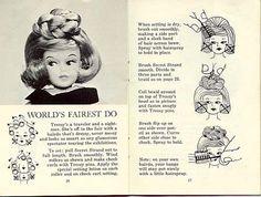 Worlds Fair, from the original 1960's hair brochure.