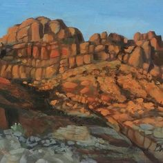 plein air oil on panel, our campsite in Lake Powell, Utah By Susan Grove Lake Powell, Campsite, Art Work, Utah, Oil, Fine Art, Painting, Artwork, Camping