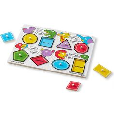 Melissa & Doug See Inside Puzzle - Shapes