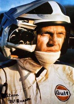 Old School GoPro sported by Steve McQueen