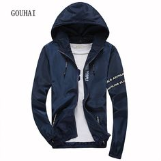 Special price 2016 Fashion Mens Jacket Hooded Plus Size M-4XL 5XL Bomber Jacket Men Casual Coat Sunscreen Jaqueta Masculina High Quality just only $19.16 with free shipping worldwide  #jacketscoatsformen Plese click on picture to see our special price for you