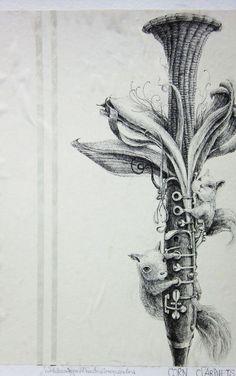 Supamas Wangsophon - Corn Clarinets