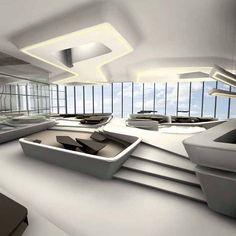 Dubai Opus Interior Design- Designed by Zaha Hadid