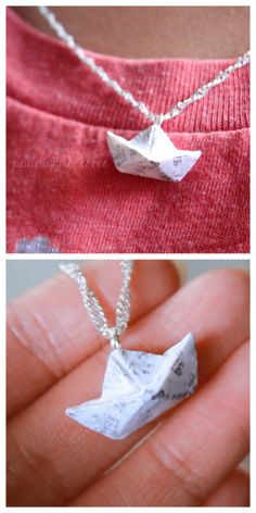 DIY Clay Paper Boat Tutorial from YouTube User...