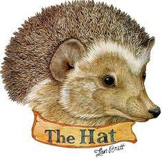 Hat Hedgehog by Jan Brett.