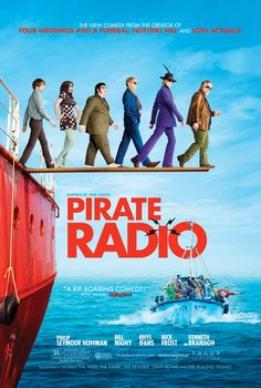 Pirate Radio: A little gem about a rogue, floating rock station a band of Brit die-hard, rock and roll lovin' deejays put together, back in the day when rock and roll was a guilty pleasure!