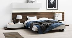 simple headboard/bed design