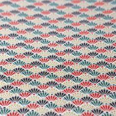 友禅紙 菊青海波 グリーンレッド 2枚入 - WACCA ONLINESHOP Chrysanthemum, Japanese Style, Textile Design, Washi, Textiles, Graphic Design, Quilts, Paper, Japan Style