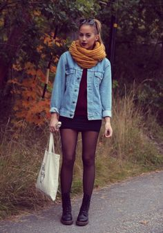 24 Trendy ideas for boots outfit dr martens style Dr Martens Style, Dr Martens Outfit, Outfits With Doc Martens, Look Boho, Look Chic, Mode Outfits, Casual Outfits, Fashion Outfits, Looks Style