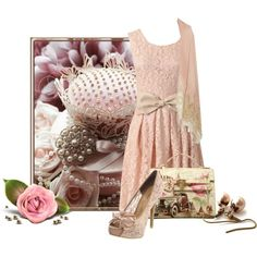 """Modern Vintage"" by mary-rt on Polyvore"