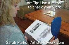 Drawing tips from Sarah Parks @ ArtistsNetwork.com! #art #drawing