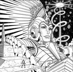 Moebius y la Dama de Elche