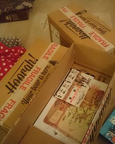 Came home for Christmas to 3 unopened flavourly boxes!
