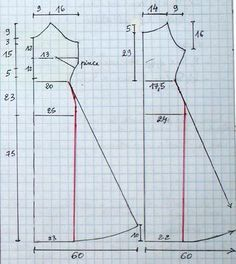 Strapless, straight or flared dress - La Coil - .- Trägerloses, gerades oder ausgestelltes Kleid – La Coil – … Strapless, straight or flared dress – La Coil – - Sewing Clothes, Barbie Clothes, Diy Clothes, Sewing Hacks, Sewing Tutorials, Sewing Projects, Sewing Tips, Free Sewing, Pattern Cutting