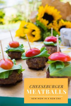 The perfect picnic recipe for the summer with @Kroger! Cheeseburger meatball…