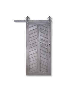 Wooden Barn Doors, Custom Wood Doors, Wood Front Doors, Old Doors, Sliding Doors, Pine Doors, Metal Barn, Barn Door In House, Barn Door Closet