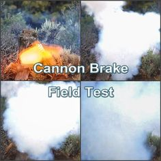 Testing a Muzzle Brake for a 1.00cal Cannon http://www.youtube.com/watch?v=dXo-4xAMp6o Check out our muzzle brakes for rifles at: www.wittmachine.net