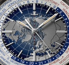 News: Introducing the Jaeger-LeCoultre Geophysic Universal Time. Our Favorite World Timer at the Moment.