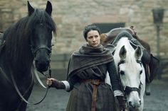"""Claire Fraser (Caitriona Balfe) in Episode 208 """"The Fox's Lair"""" of Outlander Season Two on Starz"""