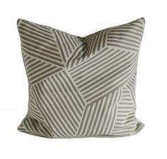 Grey throw pillows, 18x18, 20x20, 22x22, 24x24, 26x26, Pillow cover, Grey toss pillow, Pillow sham, Modern pillow, Sofa cushion, Nate Berkus by PillowCorner on Etsy