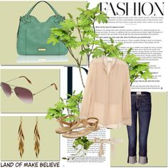 every day, created by larkins on Polyvore