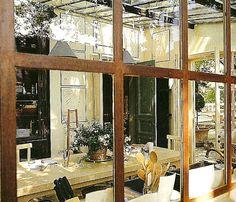 greenhouse kitchen, i love how casual it feels Studio Kitchen, Home Decor Kitchen, Kitchen Ideas, Greenhouse Kitchen, Sleeping Porch, Shabby Chic Interiors, Lorem Ipsum, Interior Architecture, Kitchen Remodel