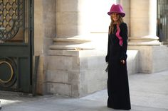 Anna Dello Russo was the street style star of the day.