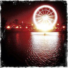 L'ex Grande Roue a été créée par Marcel Campion pour la célébration de l'an 2000, et installée dans le jardin des tuileries à Paris.  Elle fut transportée en fin de l'année 2004 à Manchester, Angleterre, et depuis l'été 2005 aux Pays-Bas à Amsterdam au Museumplein (museums quare). Elle fait son retour en France en mai 2009 en s'installant à Antibesland (Luna Park à côté du Marineland.)Sur son premier emplacement à Paris, Marcel Campion installe une nouvelle roue plus moderne  pour les fêtes…