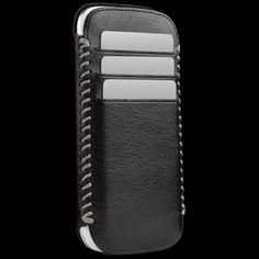 $49 Sena Black / Gray Lusio Pouch for Samsung Galaxy S III