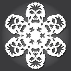 51 Free Paper Snowflake Templates—Star Wars Style! « Christmas Ideas